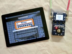 Zoom MS-100BT – Tangerine main