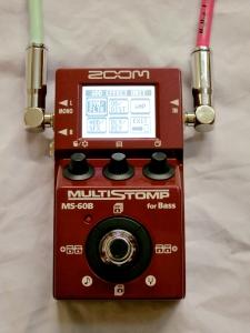 Zoom MS-60B – effect menu