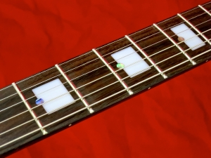 Italia Mondial Deluxe – fingerboard