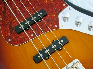 Amfisound Raudus Bass – pickups