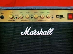 Marshall DSL5C – front panel