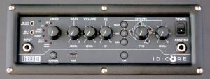 Blackstar ID_Core 40 – control panel