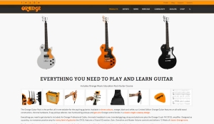 Orange Guitar Pack – 2