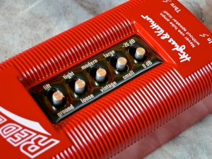 Hughes & Kettner Red Box 5 – switches