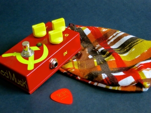 Jam pedals – Red Muck + bag