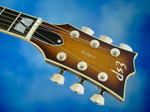 ESP USA Eclipse – headstock