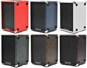 Carvin MB10 colour options