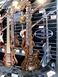 MM 2015 – ESP Custom Shop 40th Anniversary basses