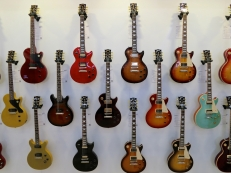 MM 2015 – Gibson's wall of Pauls