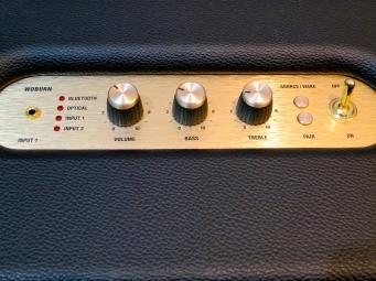 MM 2015 – Marshall Woburn lifestyle amp – controls
