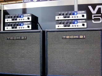 MM 2015 – Tech21NYC new VTBass500 head and cab