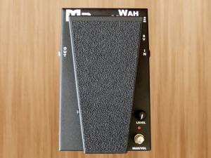 Morley M2 Wah Volume – top view