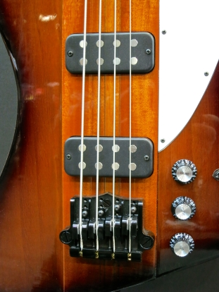 Fuzz 2015 – Gibson Thunderbird with Babicz bridge