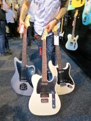 Fuzz 2015 – new Fender Standard Series HH guitars