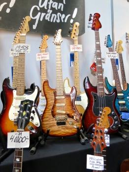 Fuzz 2015 – some guitars