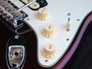 Fender Am Std Stratocaster HSS Shawbucker – controls