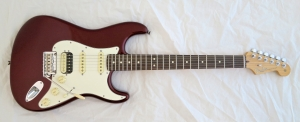 Fender Am Std Stratocaster HSS Shawbucker – full front BIG