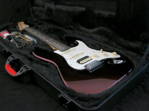 Fender Am Std Stratocaster HSS Shawbucker – in case
