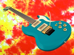 Halla Custom SG – beauty shot 2