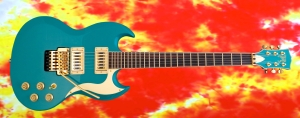 Halla Custom SG – full front