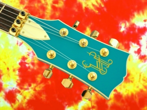 Halla Custom SG – headstock