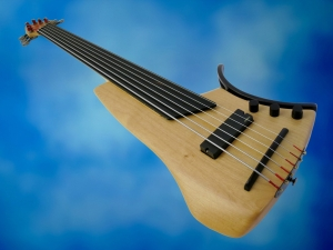 Juha Savisalo 6-String double bass – beauty shot 2