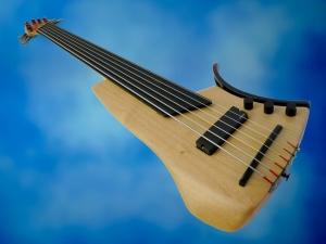 Juha Savisalo 6-String double bass – beauty shot 2