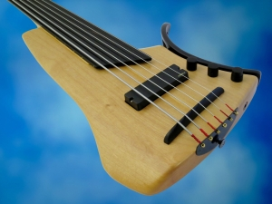 Juha Savisalo 6-String double bass – body beauty 2