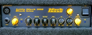 Markbass CMD JB Players School – control panel – large