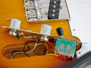 Tokai Classic TE – control cavity
