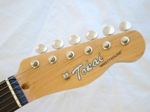 Tokai Classic TE – headstock