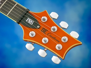 PRS SE Custom 24 30th Ann – headstock