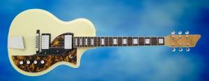 Rautia Guitars Dual Tone Style – full front