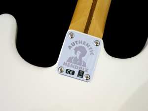 Fender Jimi Hendrix Stratocaster – neck plate