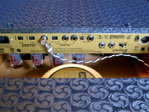 Bogner Goldfinger Phi 54 – back panel