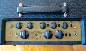 Bogner Goldfinger Phi 54 – control panel