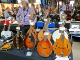 Fuzz 2016 – Gibson and Levin mandolins
