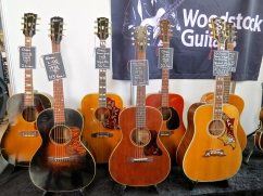 Fuzz 2016 – vintage Gibsons at Woodstock Guitars