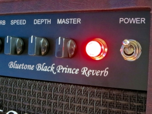 Bluetone Black Prince Reverb – pilot light from PS