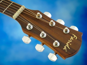Farida B-10E – headstock