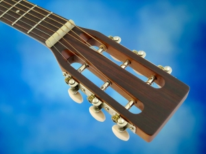 Farida M-2NS – headstock