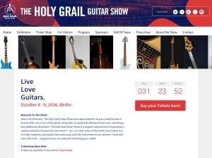 Holy Grail Guitar Show 2016