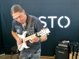 Samuli Federley at Taisto Guitars (FIN) 2