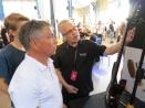 Taisto Heinonen + visitors at Taisto Guitars (FIN)