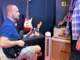 Visitor at Nordin Custom Guitars + Kumerle Amps (SWE)