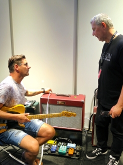 Visitor at Olsson Amplification (SWE)