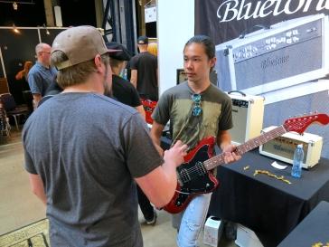 Visitor at Viitasaari Guitars (FIN)