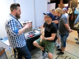 Visitor at Vuorensaku Guitars (FIN)