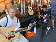 Visitors at Taylor Guitars
