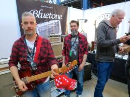 Bluetone Amps Jussi Kaakkolammi + Matti Vauhkonen – Fuzz 2019